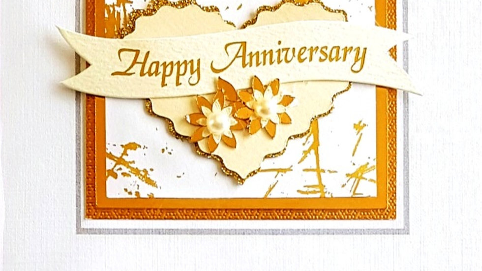 B10 anniversary card