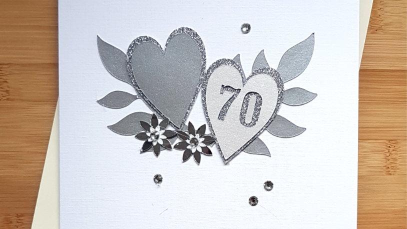 Platinum (70th ) anniversary for mum and dad