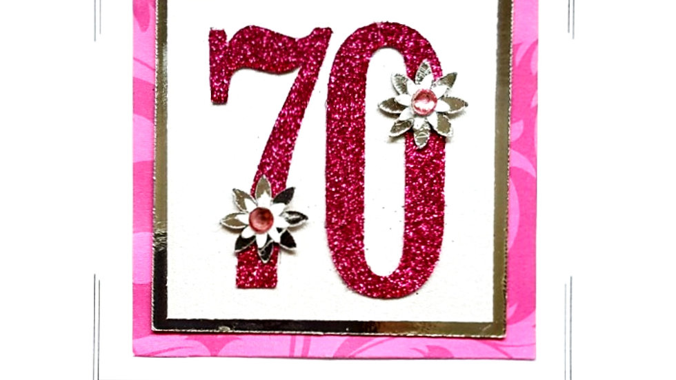 LC7  70th birthday female