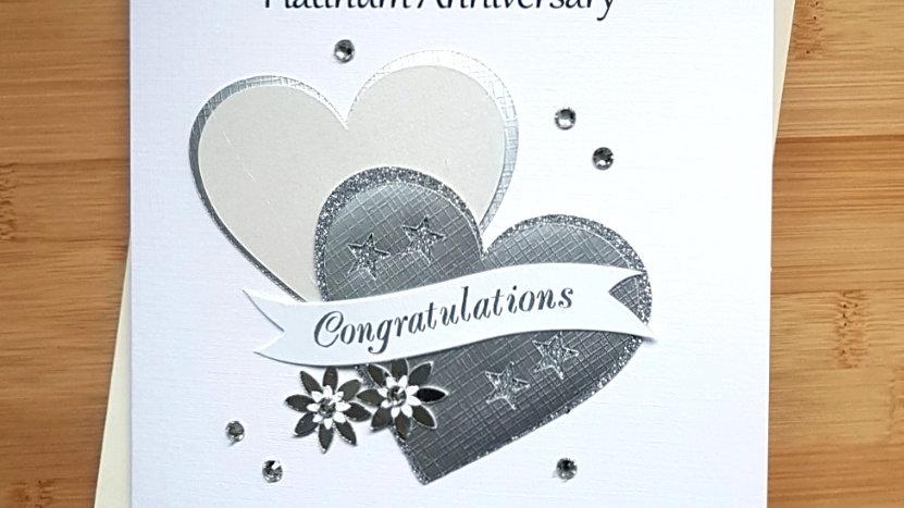 Platinum (70th ) anniversary (A14)