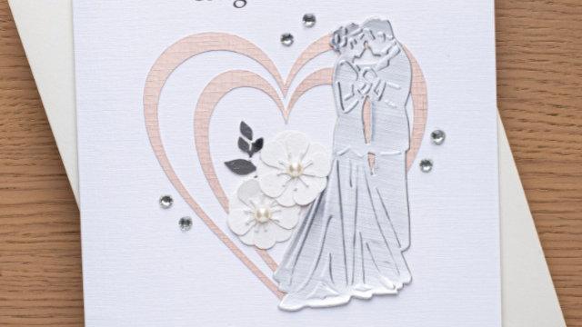 Wedding Day card (A10)