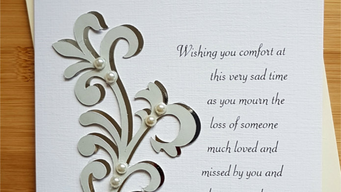 With Deepest Sympathy for you and your family