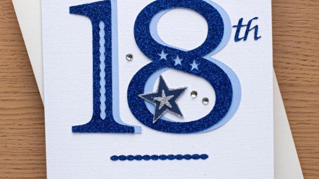 A6  - Male 18th birthday