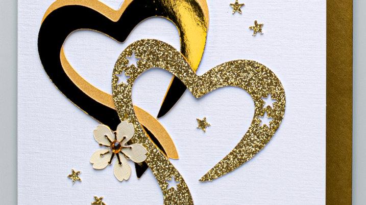Golden Wedding Anniversary card (SA2)