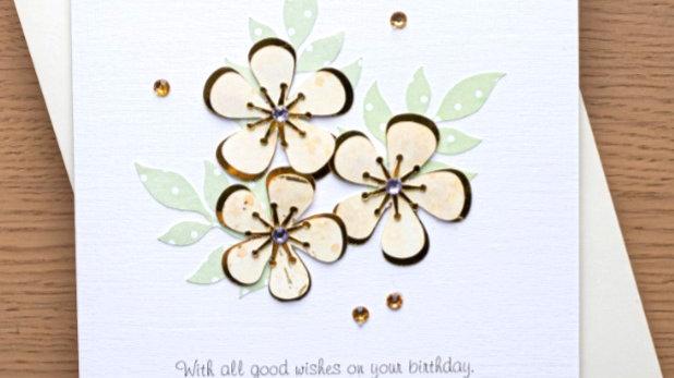 A19 - Female birthday card