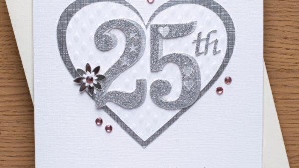 Silver ( 25th ) anniversary (A12)