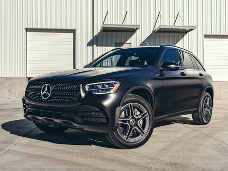 Mercedes GLC 300 Satin Black Wrap