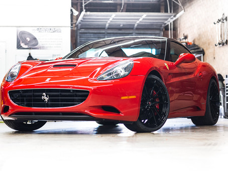 Ferrari California Gets A Sleek New Look