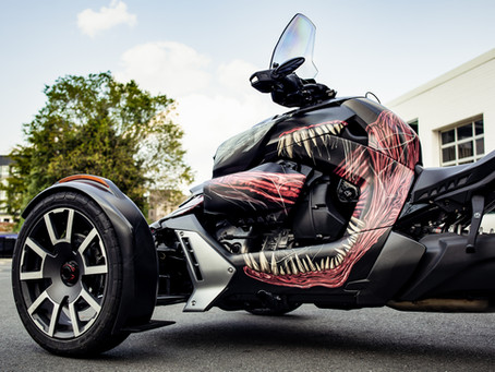 Venom Wrapped Trike