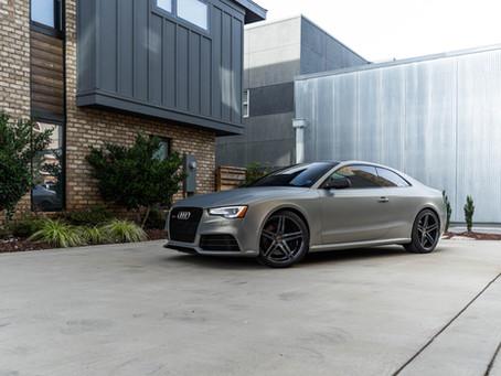 Audi RS5 'Matt Future Military' Wrap