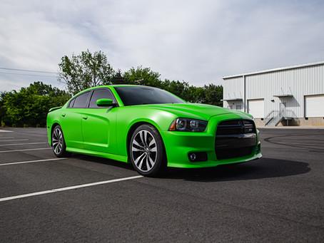 Dodge Charger SRT8 'Satin Apple Green'