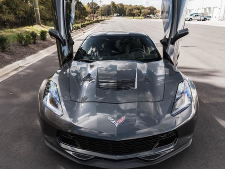 C7 Corvette Vertical Doors