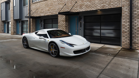 Ferrari 458 Paint Protection Film