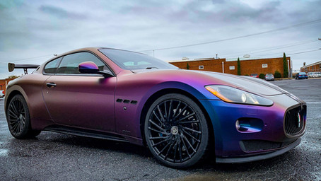 2008 Maserati GT Vinyl Wrap, Ceramic Pro and more…