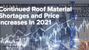 Roofing Supply Shortage Update