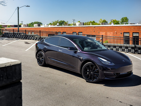 Tesla Model 3 Gloss Wicked Wrap