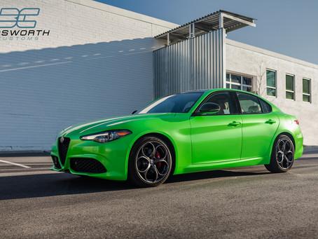 'Gymkhana Green' Alfa Romeo Giulia