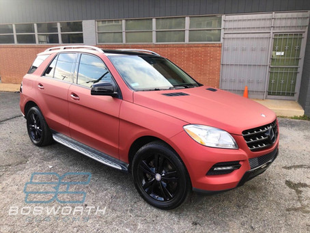 Mercedes ML350 Color Change, Accents, & More..