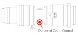 Micro Zoom Detented Zoom Control