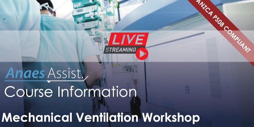 AnaesAssist Webinar: Mechanical ventilation