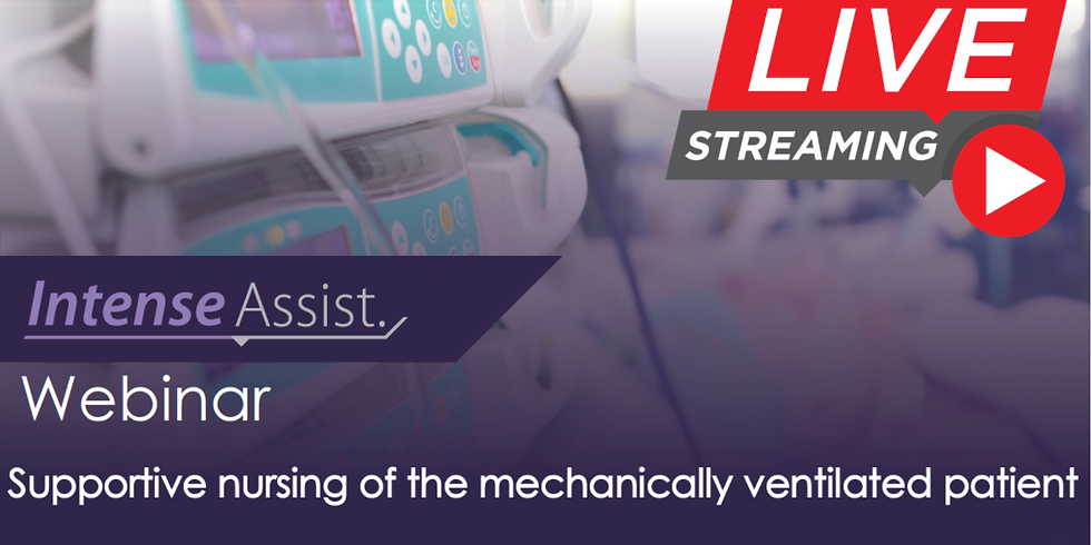 Webinar: Supportive nursing of the mechanically ventilated patient