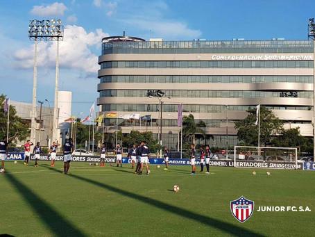 Junior disputará la tercera fase de la Libertadores ante Guaraní en Paraguay
