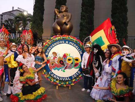 Medellín y Bogotá se contagiaron de la sabrosura del Carnaval de Barranquilla