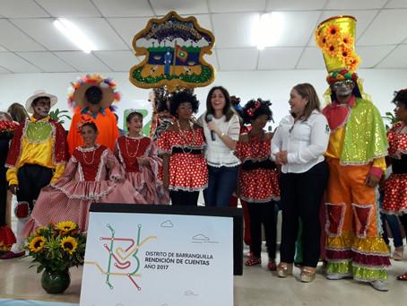 La secretaria de Gestión Social de Barranquilla rindió cuentas de las iniciativas adelantadas en el