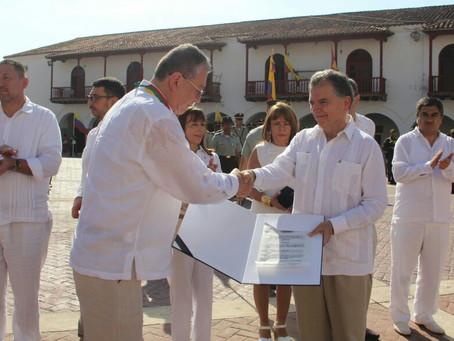 Universidad de Cartagena y su rector reciben distinciones en Bicentenario del Consejo de Estado