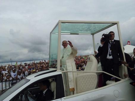 Último discurso del Papa Francisco en Colombia