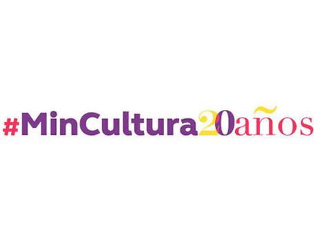 Ministerio de Cultura celebra sus 20 años de existencia en Barranquilla