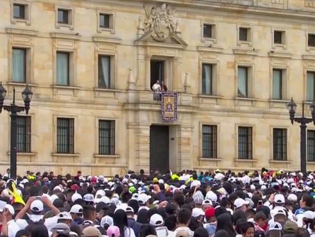 Así fue el discurso del Papa Francisco desde la plaza de Bolívar