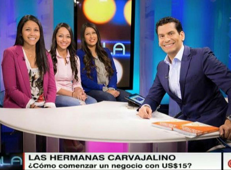 Carvajalino sisters from Cartagena, will represent Colombia at internacional event One Young Tour