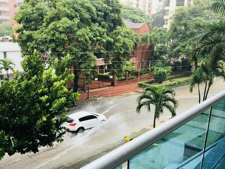 Lluvias causaron emergencias en Barranquilla