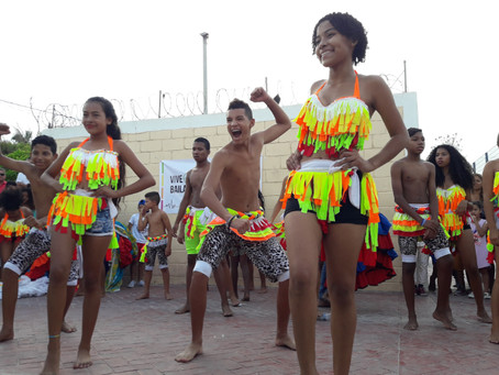 El baile, herramienta de cambio social en Las Flores