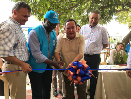 En La Guajira se inauguró ampliación del Centro de Atención al Migrante y Refugiado