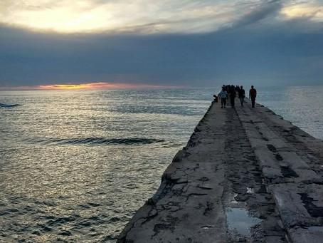 Por fuerte oleaje se restringe acceso a playas del Atlántico