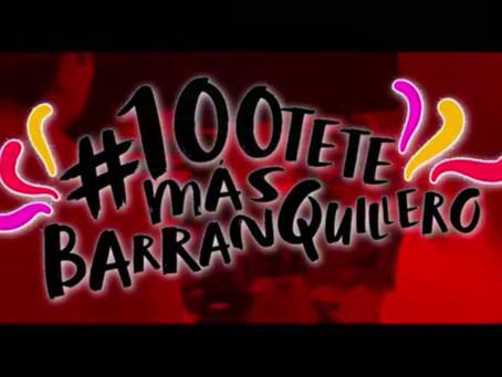 #100teteMásBarranquillero, la canción oficial de la Reina del Carnaval 2018