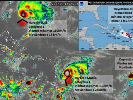 Huracán María incrementaría lluvias en la región Caribe