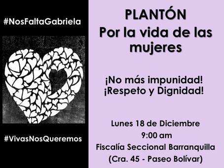Platón en Barranquilla para exigir acciones contundentes contra el maltrato a la mujer