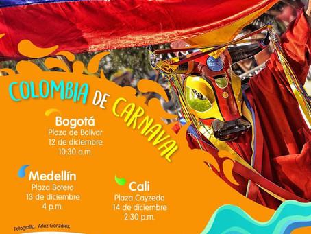 El Carnaval de Barranquilla estará de gira por Colombia