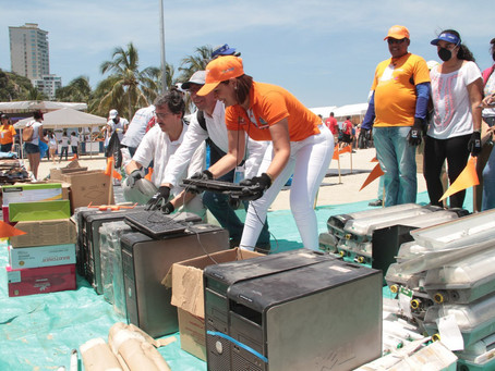 5.2 tons of waste collected in El Rodadero during Clean-up