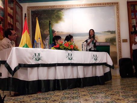Ministra Yaneth Giha recibió homenaje de la Universidad Simón Bolívar