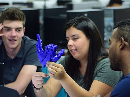 Estudiantes del Sena Atlántico trabajan en elaboración de prótesis con investigadores de Estados Uni
