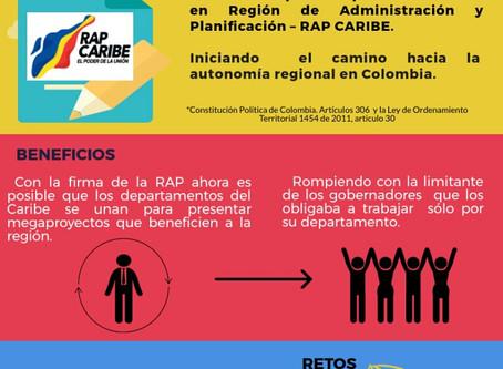 [Infografía] ¿Qué pasa el 19 de octubre en la Región Caribe?