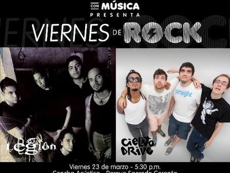 En Barranquilla se llevará a cabo el primer Viernes de Rock