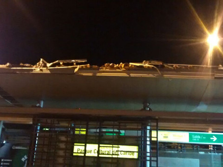 Transmetro fue escenario de dos reprochables hechos que causaron afectaciones