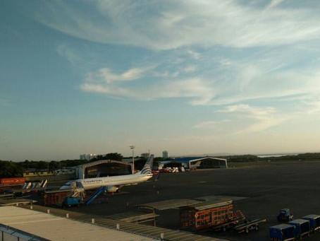 Mujer que causó cierre temporal de aeropuerto de Cartagena, permanece hospitalizada