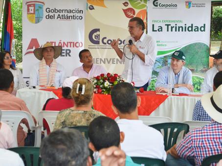 Corpoica cuenta con nuevo terreno en Atlántico para fortalecer agroindustria con Uniatlántico