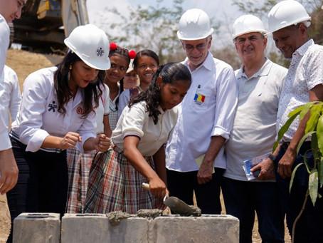 Inició construcción de sedes del Sena en Luruaco y Juan de Acosta
